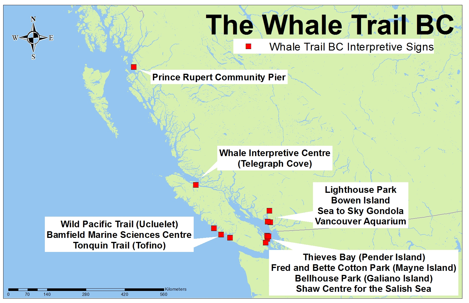 The Whale Trail BC | WildWhales