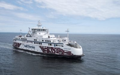 The BCCSN Welcomes BC Ferries to the Whale Trail